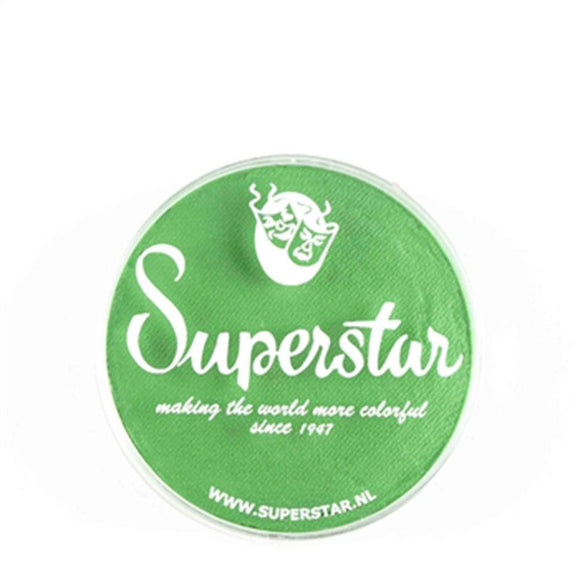 Superstar Aqua Face & Body Paint - Flash Green 142 (16 gm)