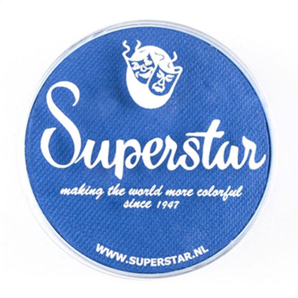 Superstar Aqua Face & Body Paint - Brilliant Blue 143 (45 gm)