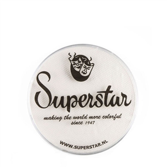 Superstar Aqua Face & Body Paint - Line White 161 (16 gm)