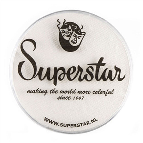 Superstar Aqua Face & Body Paint - Line White 161 (45 gm)