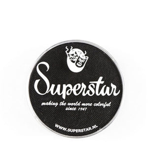Superstar Aqua Face & Body Paint - Line Black 163 (16 gm)