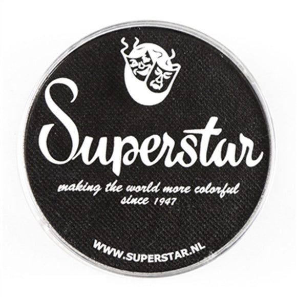 Superstar Aqua Face & Body Paint - Line Black 163 (45 gm)
