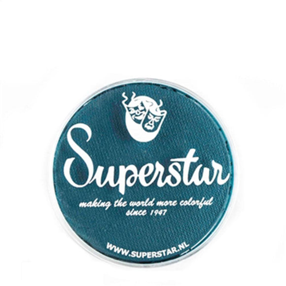 Superstar Aqua Face & Body Paint - Petrol Blue 173 (16 gm)