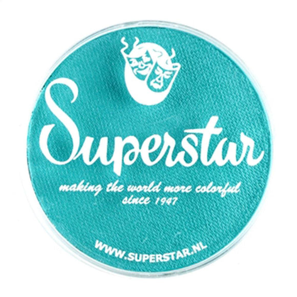 Superstar Aqua Face & Body Paint - Teal 209 (45 gm)