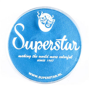 Superstar Aqua Face & Body Paint - London Sky Blue Shimmer 213 (45 gm)