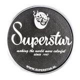 Superstar Aqua Face & Body Paint - Steel Black Shimmer/graphite 223 (45 gm)