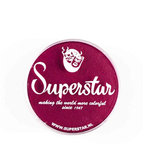 Superstar Aqua Face & Body Paint - Berry Wine 227 (16 gm)