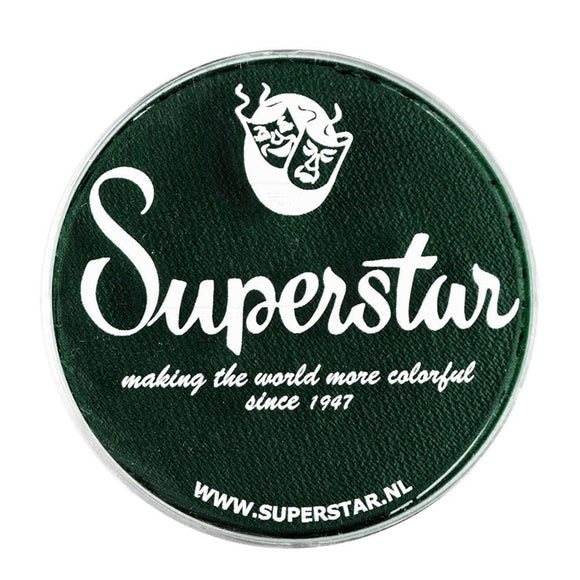Superstar Aqua Face & Body Paint - Dark Green 241 (45 gm)