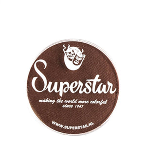 Superstar Aqua Face & Body Paint - Chocolate Brown 024 (16 gm)
