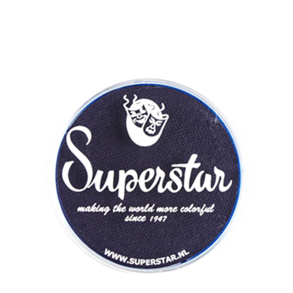 Superstar Aqua Face & Body Paint - Ink Blue 243 (16 gm)