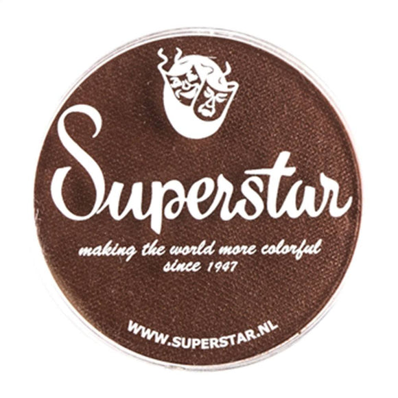 Superstar Aqua Face & Body Paint - Chocolate Brown 024 (45 gm)
