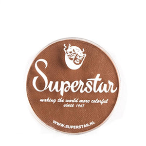 Superstar Aqua Face & Body Paint - Pecan Brown 031 (16 gm)