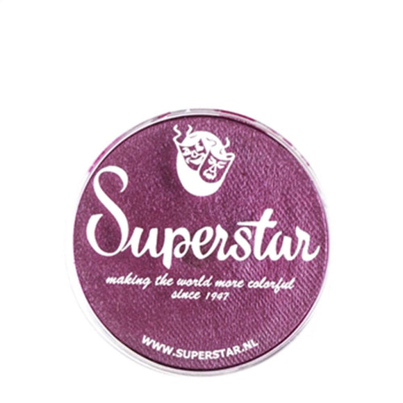 Superstar Aqua Face & Body Paint - Berry Shimmer 327 (16 gm)