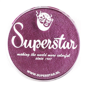 Superstar Aqua Face & Body Paint - Berry Shimmer 327 (45 gm)