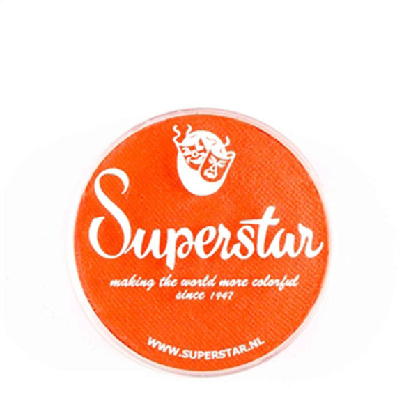 Superstar Aqua Face & Body Paint - Bright Orange 033 (16 gm)