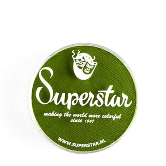 Superstar Aqua Face & Body Paint - Grass Green 042 (16 gm)