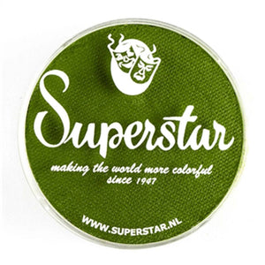 Superstar Aqua Face & Body Paint - Grass Green 042 (45 gm)