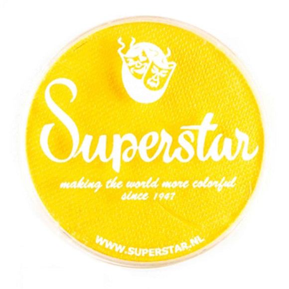 Superstar Aqua Face & Body Paint - Bright Yellow 044 (45 gm)
