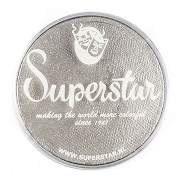 Superstar Aqua Face & Body Paint - Silver Shimmer 056 (45 gm)