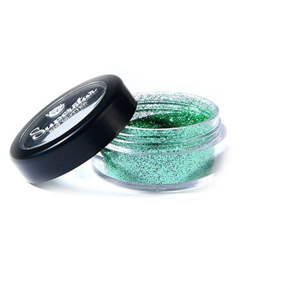 Superstar Biodegradable Loose Fine Glitter - Spring Green (6 ml)