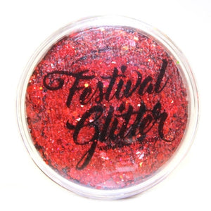 Art Factory Festival Glitter - Cherry Bomb  (50 ml/1 fl oz)