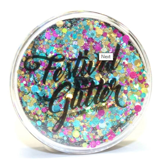 Art Factory Festival Glitter - Unicorn Pop  (50 ml/1 fl oz)