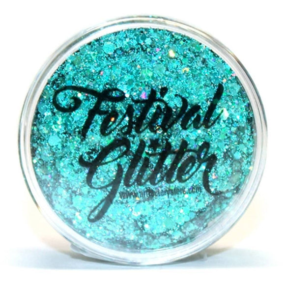 Art Factory Festival Glitter - Blue Lagoon  (50 ml/1 fl oz)