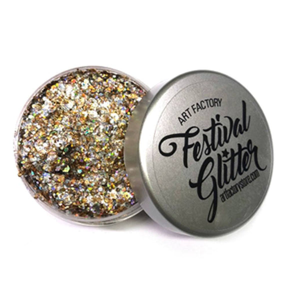 Art Factory Festival Glitter - Champagne (50 ml/1 fl oz)