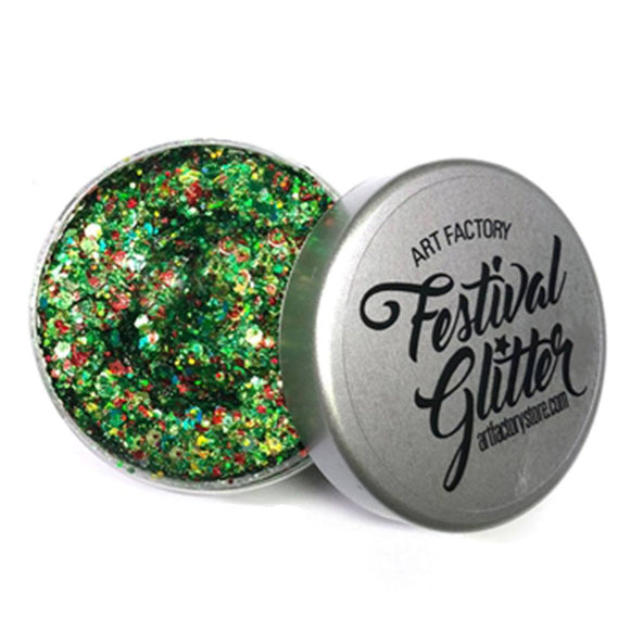 Art Factory Festival Glitter - Santa Baby (50 ml/1 fl oz)