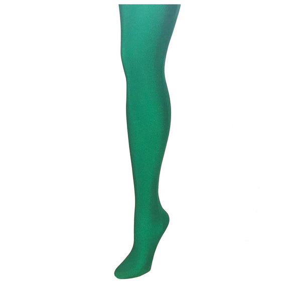 Alan Sloan Solid Men's Tights - Kelly Green (M)