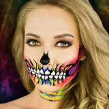 Woochie Water Activated Makeup Kit - Rainbow Skull