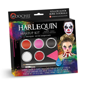 Woochie Water Activated Makeup Kit - Harlequin