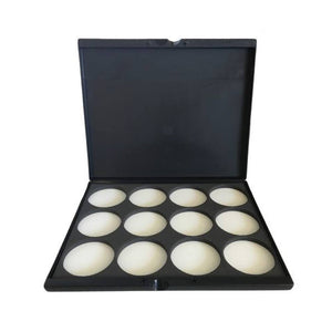 Kryvaline Empty Face Paint Palette Case w/ 12 x 30 gm Insert