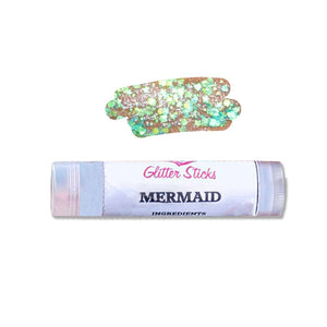 Creative Faces Chunky Glitter Stick - Mermaid