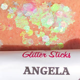Creative Faces Chunky Glitter Stick - Angela