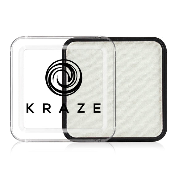 Kraze FX Face & Body Paint - Metallic White (25 gm)