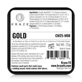 Kraze FX Face & Body Paint - Metallic Gold (25 gm)