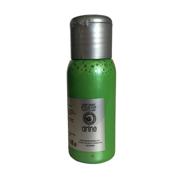 Cameleon Airline Metallic Paint - Irish Eyes Green (50 ml)