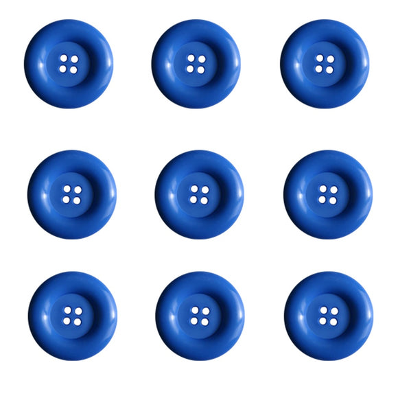 Dill Buttons - 4 Hole - Royal Blue