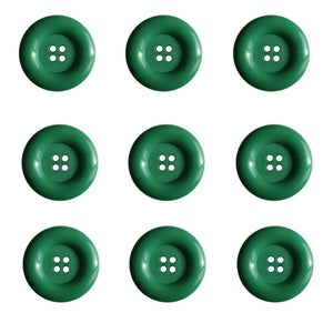 Dill Buttons - 4 Hole - Light Green