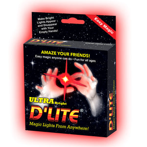 D'lite Dazzle Red Thumb tip - Regular Size (Pair)