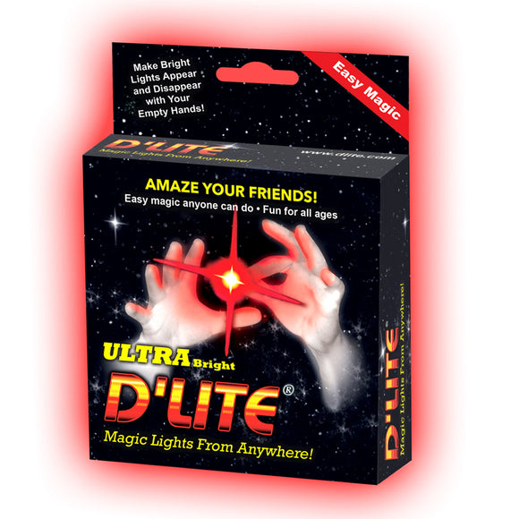 D'lite Ultra Bright Red Thumb tip - Regular Size (Pair)
