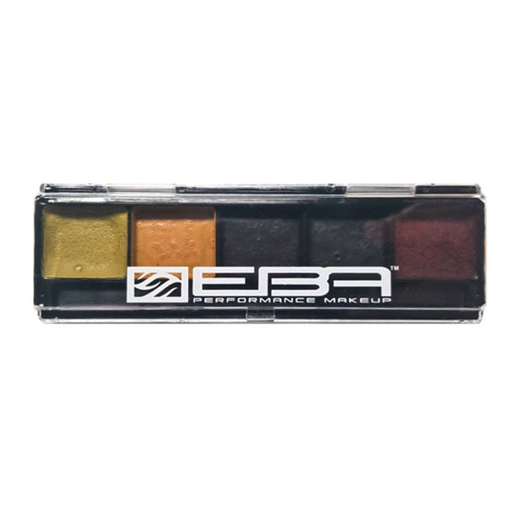 European Body Art Encore SLIM Alcohol Palette - Bruise Edition
