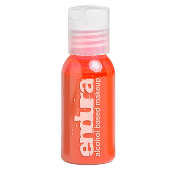 Endura Alcohol Based Airbrush Ink - Fluorescent Orange (1 oz)