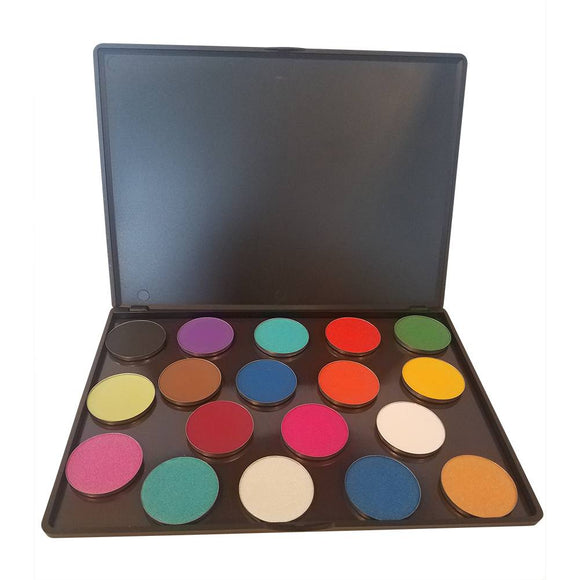 Elisa Griffith Color Me Pro Pressed Powder Palette (18 Colors)