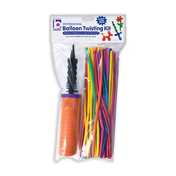 Betallatex Balloon Twisting Kit with Assorted 260B Balloons