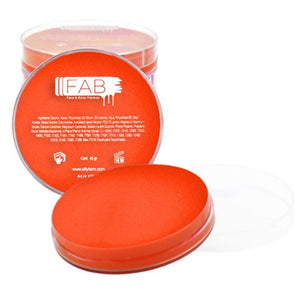 FAB Superstar Face Paint - Bright Orange 033 (45 gm)