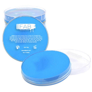 FAB Blue Superstar Face Paint - Alice Blue 116 (45 gm)
