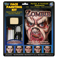 Wolfe Zombie Face Painting Kit