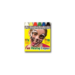 Wolfe Face Painting Crayons (6/box)